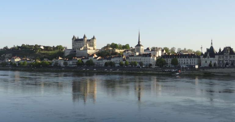 La ville de Saumur