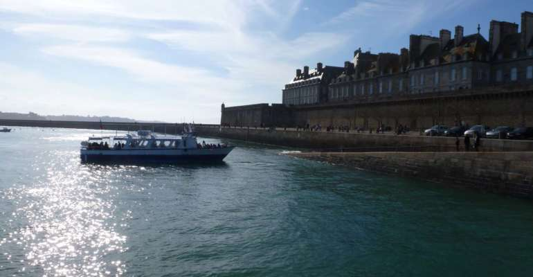 Bateau entre Dinard & Saint-Malo