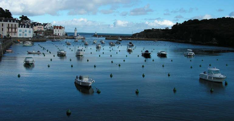 Belle-Île en mer et son port