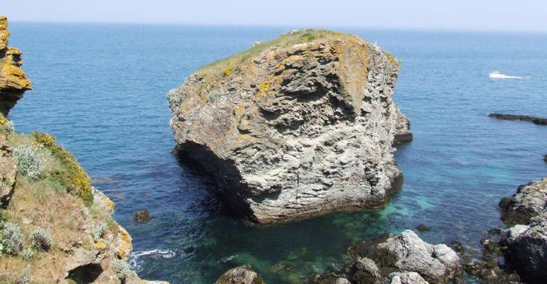 Un rocher de Belle-Île-en-mer