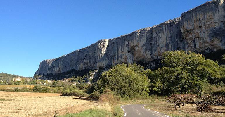 Les falaises de la Madeleine Luberon