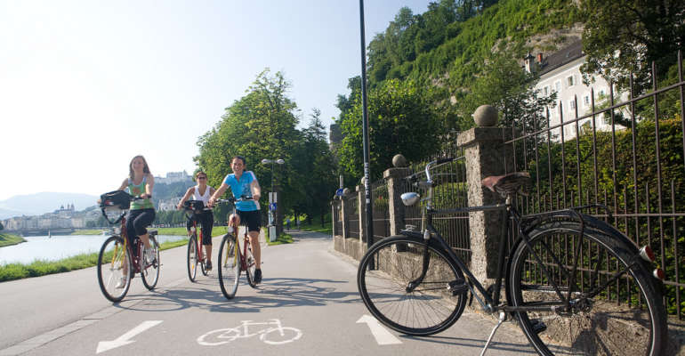 Groupe à vélo Danube