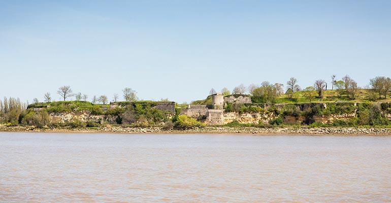 Citadelle sur la Gironde Bordelais