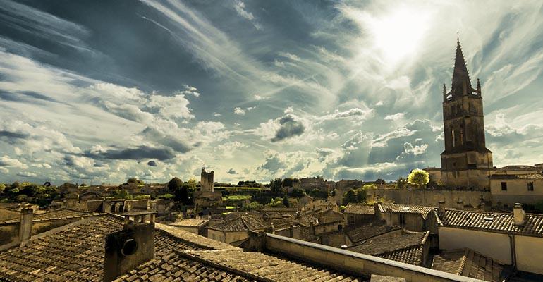 Sur les toits de Saint-Emilion, UNESCO