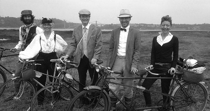Le Tour de Rance Vintage 2016 - team Abicyclette