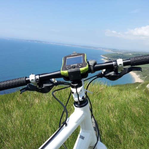 GPS sur vélo