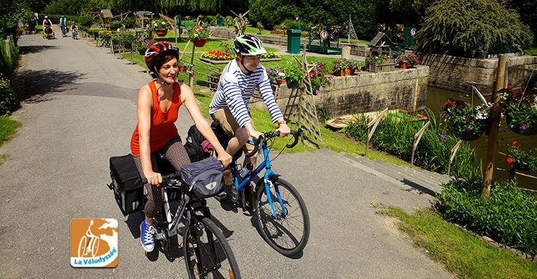 La vélodyssée Canal Nantes à Brest