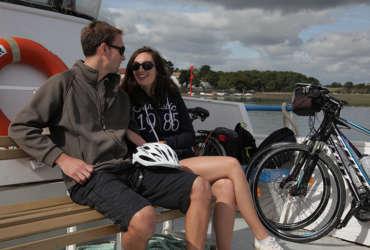 Les îles du Morbihan passeur vélos