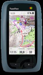 Vue de face du GPS TwoNav Anima