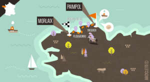 La Bretagne de port en port 2 - la carte