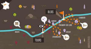 Blois Tours Loire à vélo