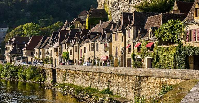 Village de Beynac dordogne périgord