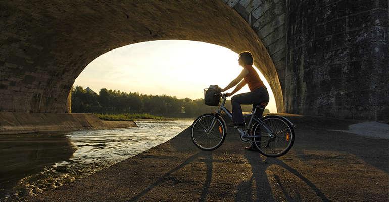Vélo près de la Loire