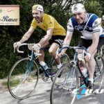 Maillot jaune du Tour de Rance Vintage Abicyclette Voyages