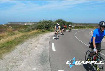Bretagne Route Échappée Cycliste