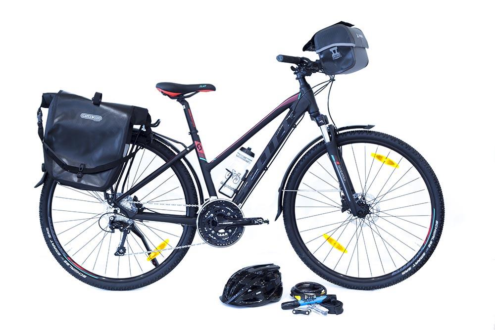 Vélo Scott et son équipement par Abicyclette Voyages