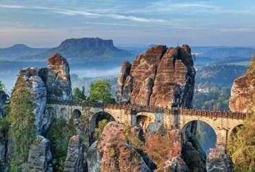 Panorama republique tcheque a velo Abicyclette Voyages