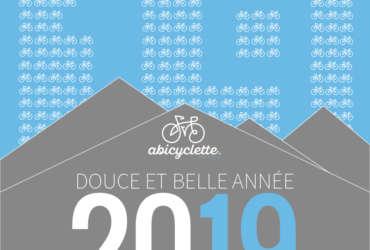 Bonne année 2019 Abicyclette Voyages