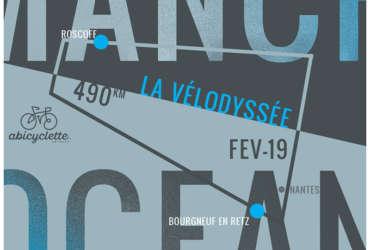 Le Challenge de la Vélodyssée, de Roscoff à Bourgneuf