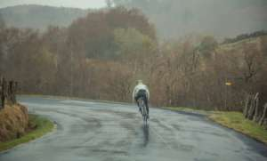 Cycling even when it rains!