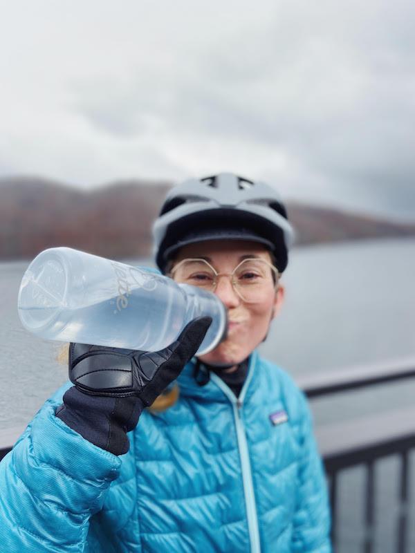 Camille Pic à vélo au Japon avec Abicyclette Voyages