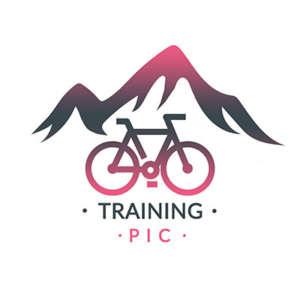 logo entreprise Training pic vélo et montagne