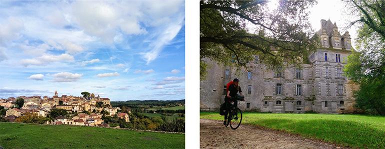 Chateau et paysage