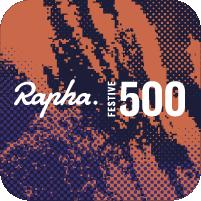 badge rapha festive 500 2020