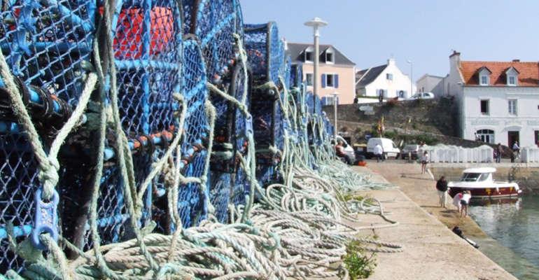 Le port de pêche de Belle-Île en mer