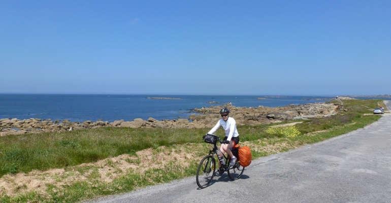 Route côtière en Bretagne