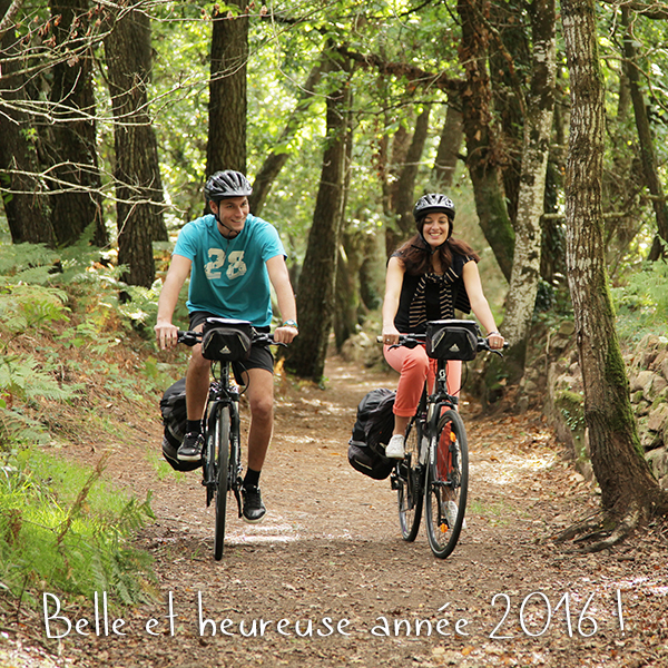 Happy new year 2016 Travel with Abicyclette France