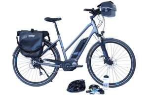 EBIKE Abicyclette Brittany Normandy electric bike rental