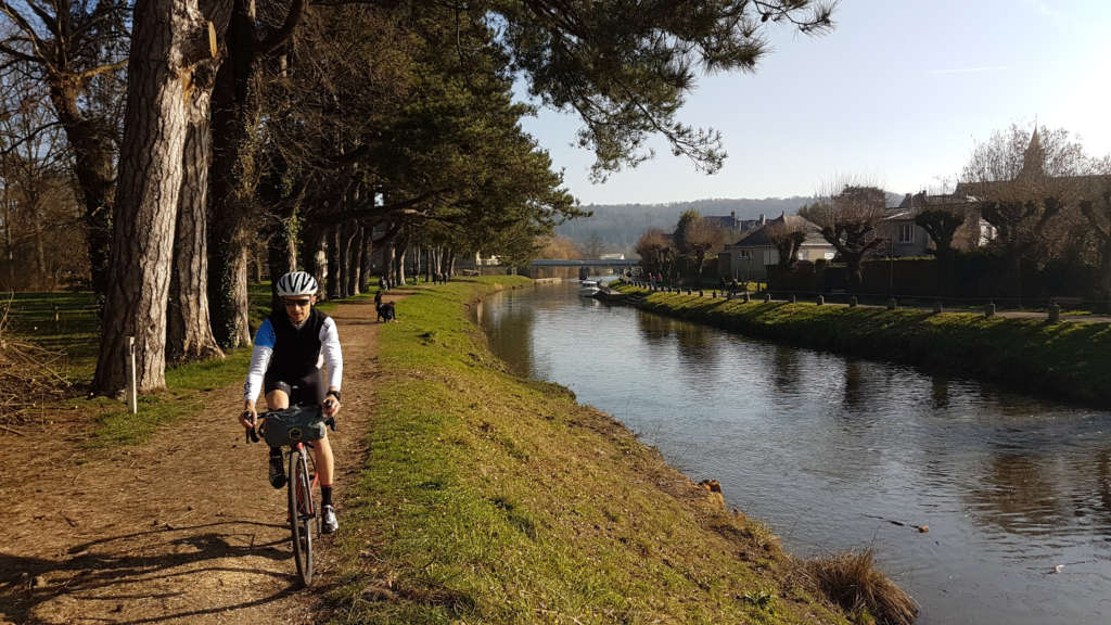Gravel biking on the Vélodyssée