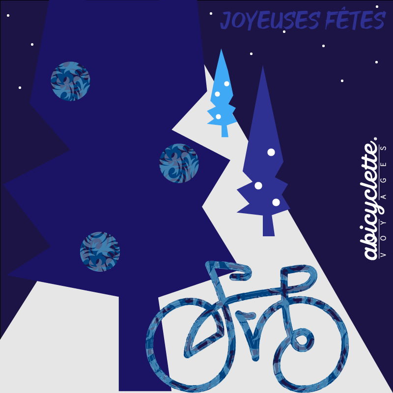 Happy New Year from Abicyclette Voyages
