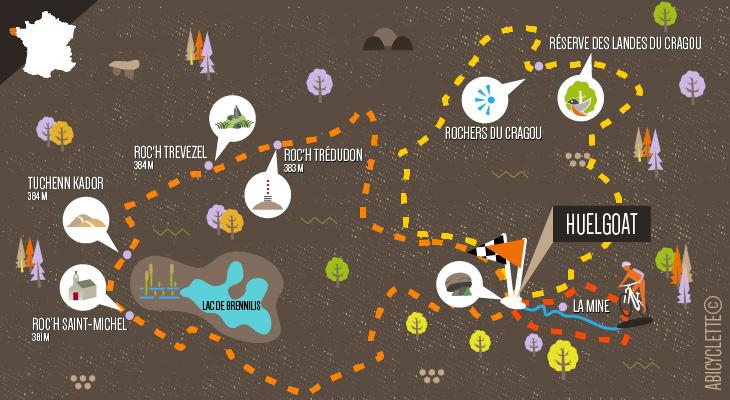 À l'assaut des Monts d'Arrée Abicyclette Voyages