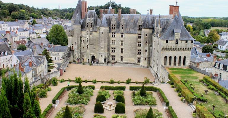 chateau langeais voyage a velo