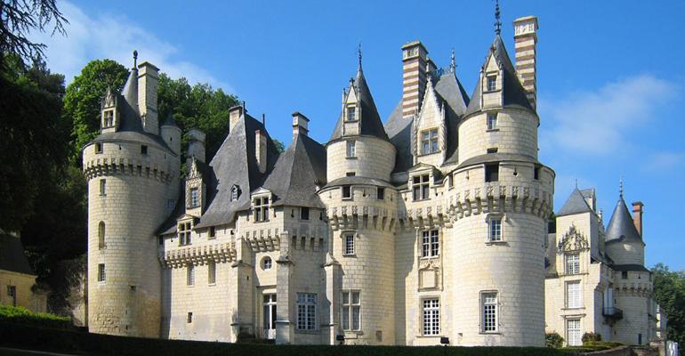 chateau usse loire a velo