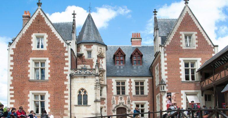 Château du Clos Lucé Val de Loire : Patrimoine mondial Abicyclette Voyages à vélo