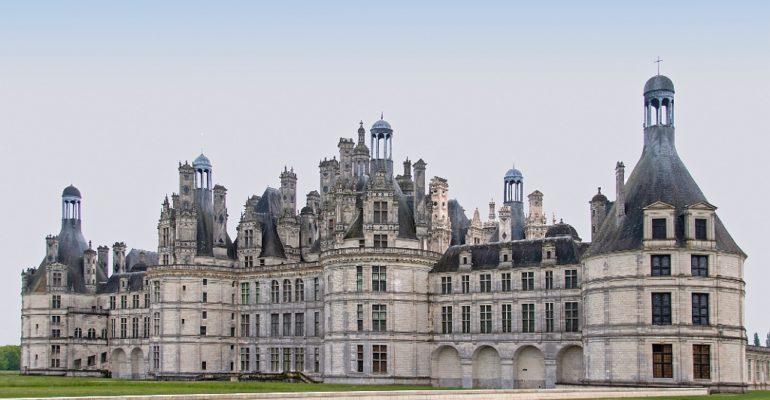 Chateau de Chambord La Vallée des rois de Blois à Tours Abicyclette Voyages à vélo