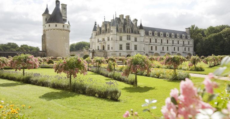 Jardins et chateau de Chenonceau La Vallée des rois de Blois à Tours Abicyclette Voyages à vélo
