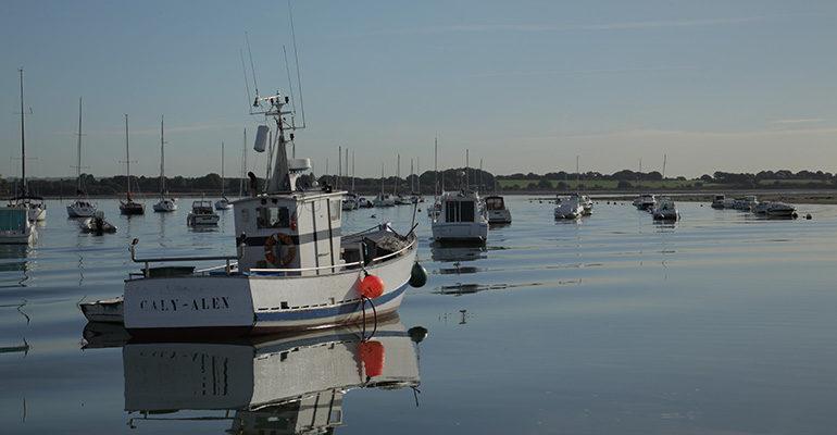 Bateaux Golfe du Morbihan Abicyclette Voyages à vélo