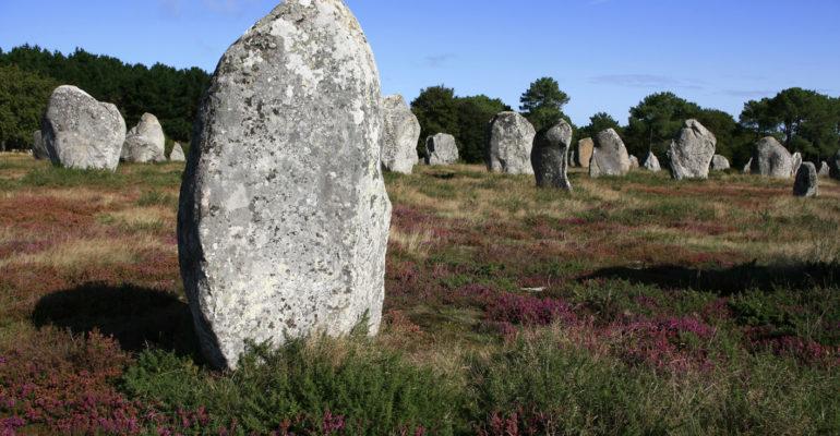 Menhirs de Carnac Le Tour du Golfe du Morbihan
