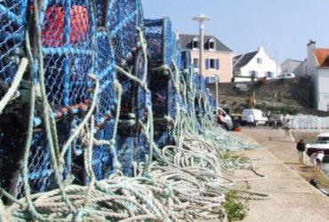 Matériel de pêche Belle-Île-en-mer à vélo