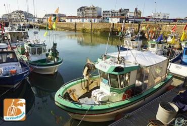 Bâteaux de pêcheurs au port Vélodyssee Abicyclette Voyages à vélo