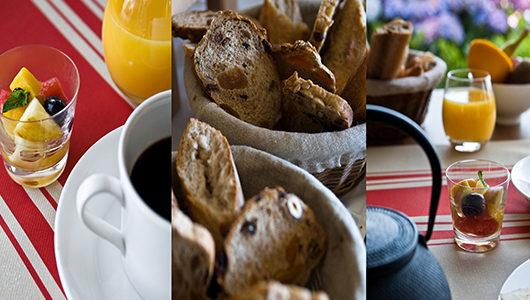 Détails de petit-déjeuner Hôtel Les Costans à Perros-Guirec
