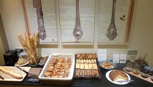 Buffet de petit-déjeuner Hôtel la Maison des Armateurs