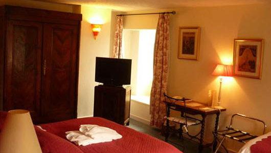 Chambre Hôtel Le Manoir des Portes à Lamballe