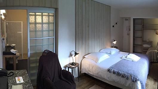 Chambre cosy Hôtel Le Manoir des Portes à Lamballe