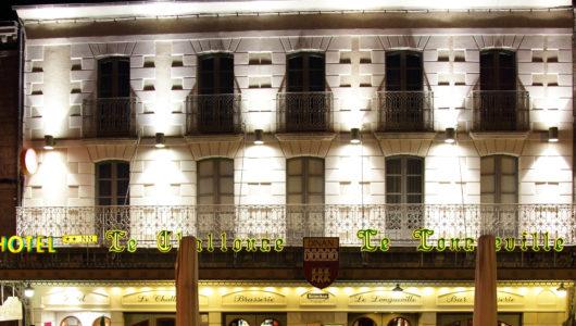 Façade Hôtel Le Challonge à Dinan