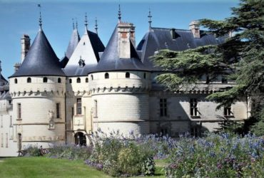 Vue du château de Chaumont depuis le parc